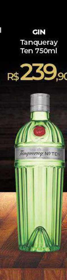 Peg Pese Gin Tanqueray Ten