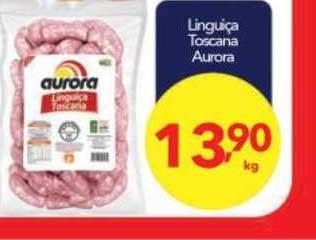 Lopes Supermercados Linguiça Toscana Aurora