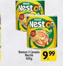 Coelho Diniz Neston 3 Cereais Nestlé