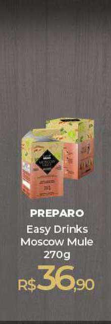 Peg Pese Preparo Easy Drinks Moscow Mule