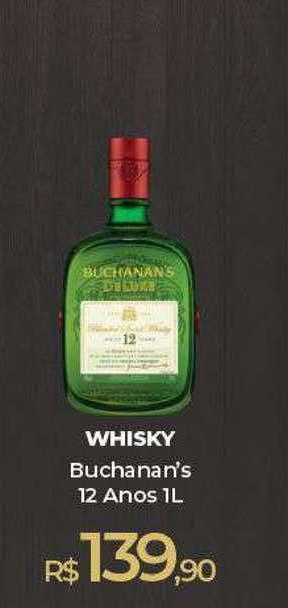 Peg Pese Whisky Buchanan's 12 Anos