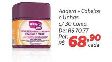 Coocerqui Addera + Cabelos E Unhas