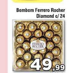 Copercana Bombom Ferrero Rocher Diamond