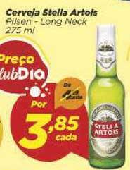Supermercado Dia Cerveja Stella Artois Pilsen Long Neck