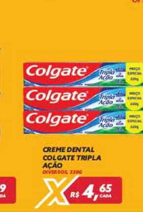 Maxxi Atacado Creme Dental Colgate Tripla Ação