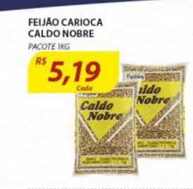 Assaí Atacadista Feijão Carioca Caldo Nobre Pacote