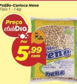 Supermercado Dia Feijão Carioca Nene Tipo 1