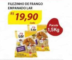 Assaí Atacadista Filezinho De Frango Empanado Lar
