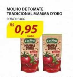 Assaí Atacadista Molho De Tomate Tradicional Mamma D'oro Pouch