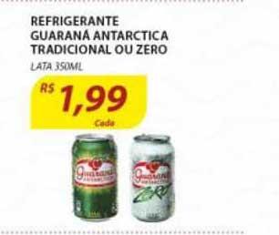 Assaí Atacadista Refrigerante Guarana Antarctica Tradicional Ou Zero Lata