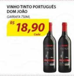Assaí Atacadista Vinho Tinto Português Dom João Garrafa