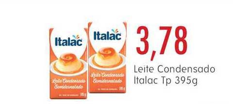 Epa Leite Condensado Italac Tp 395g