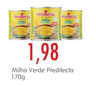 Epa Milho Verde Predilecta 170g