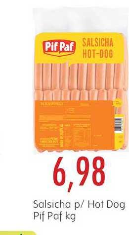 Epa Salsicha P-hot Dog Pif Paf Kg