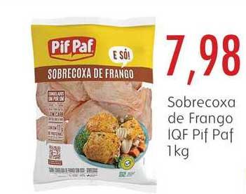Epa Sobrecoxa De Frango Iqf Pif Paf 1kg