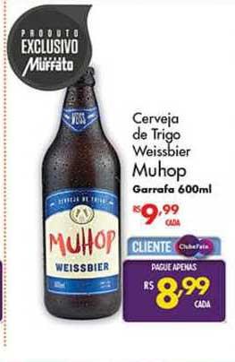 Super Muffato Cerveja De Trigo Weissbier Muhop