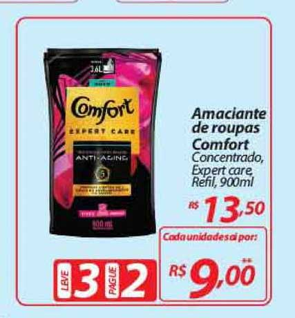 Mercadorama Amaciante De Roupas Comfort