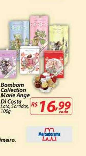 Mercadorama Bombom Collection Marie Ange Di Costa