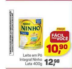 Supermercados São Vicente Leite Em Pó Integral Ninho