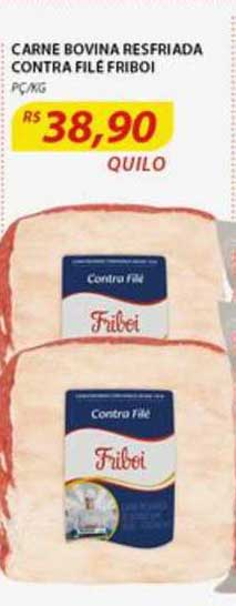 Assaí Atacadista Carne Bovina Resfriada Contra Filé Friboi
