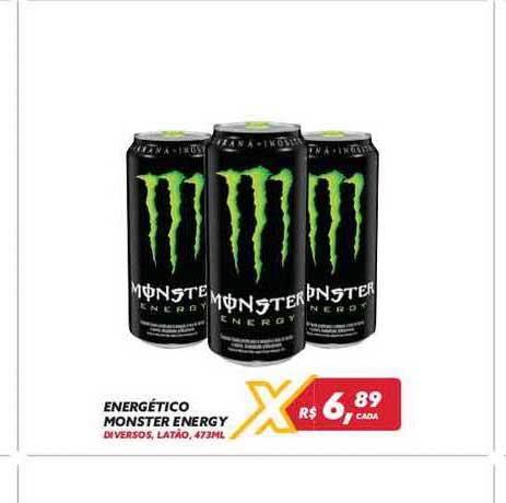 Maxxi Atacado Energético Monster Energy