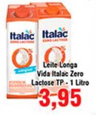 Shibata Supermercados Leite Longa Vida Italac Zero Lactose Tp