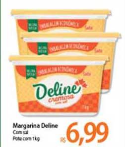 Atacadão Margarina Deline Com Sal
