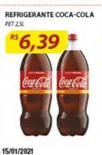 Assaí Atacadista Refrigerante Coca Cola