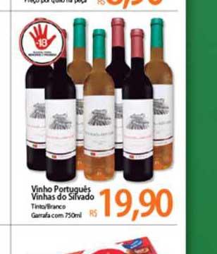 Atacadão Vinho Portugués Vinhas Do Silvado