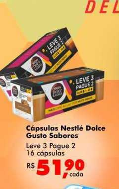 Big Box Cápsulas Nestlé Dolce Gusto Leve 3 Pague 2