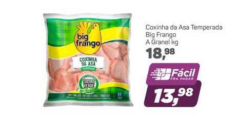 Supermercados São Vicente Coxinha Da Asa Temperada Big Frango