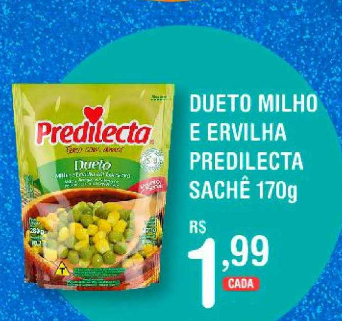 Extrabom Supermercados Dueto Milho E Ervilha Predilecta