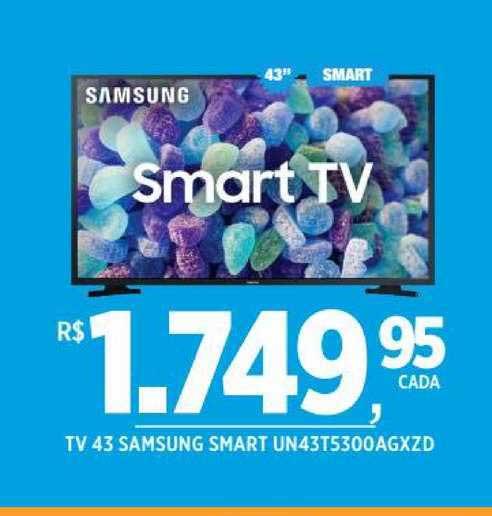 DB Supermercados Tv 43 Samsung Smart Un43t5300agxzd