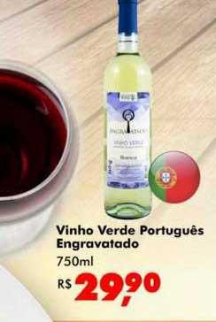 Big Box Vinho Verde Português Engravatado