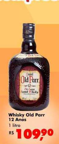 Big Box Whisky Old Parr 12 Anos
