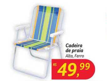 Hipermercado Big Cadeira De Praia