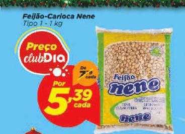 Supermercado Dia Feijão Carioca Nene