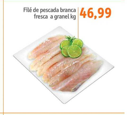 Sonda Supermercados Filé De Pescada Branca Fresca A Granel Kg