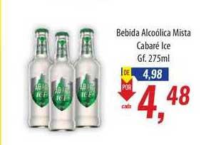 Supermercados BH Bebida Alcoólica Mista Cabaré Ice