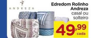 Carrefour Edredom Rolinho Andreza