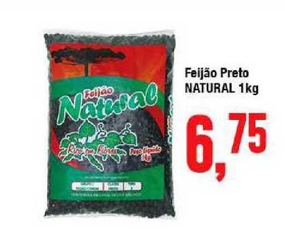 Rede Economia Feijão Preto Natural 1kg
