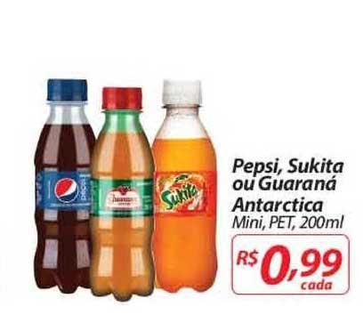 Nacional Pepsi Sukita Ou Guaraná Antarctica