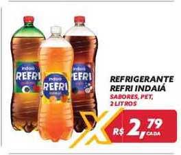 Maxxi Atacado Refrigerante Refri Indaiá 2 Litros