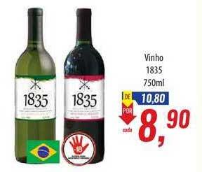 Supermercados BH Vinho 1835