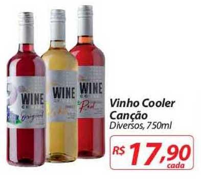 Nacional Vinho Cooler Canção