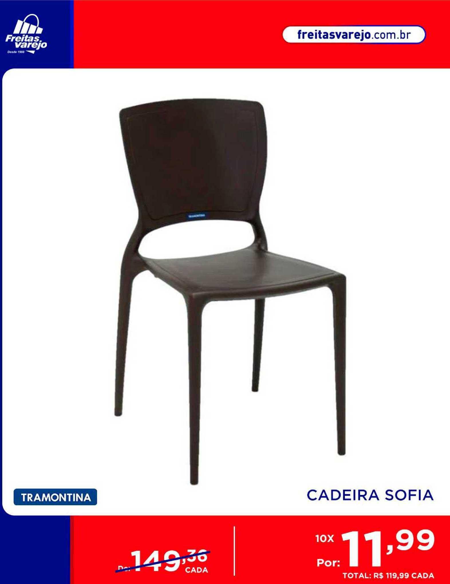 Freitas Varejo Cadeira Sofia