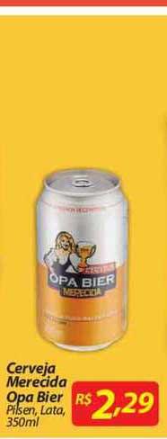 Mercadorama Cerveja Merecida Opa Bier