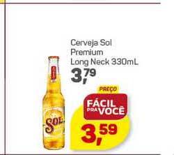 Supermercados São Vicente Cerveja Sol Premium Long Neck