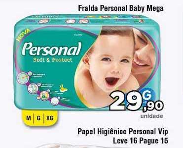 Copercana Fralda Personal Baby Mega