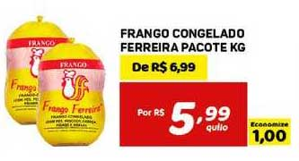 Bahamas Mix Frango Congelado Ferreira